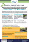 Agricultural Land Management – Natural Flood Management