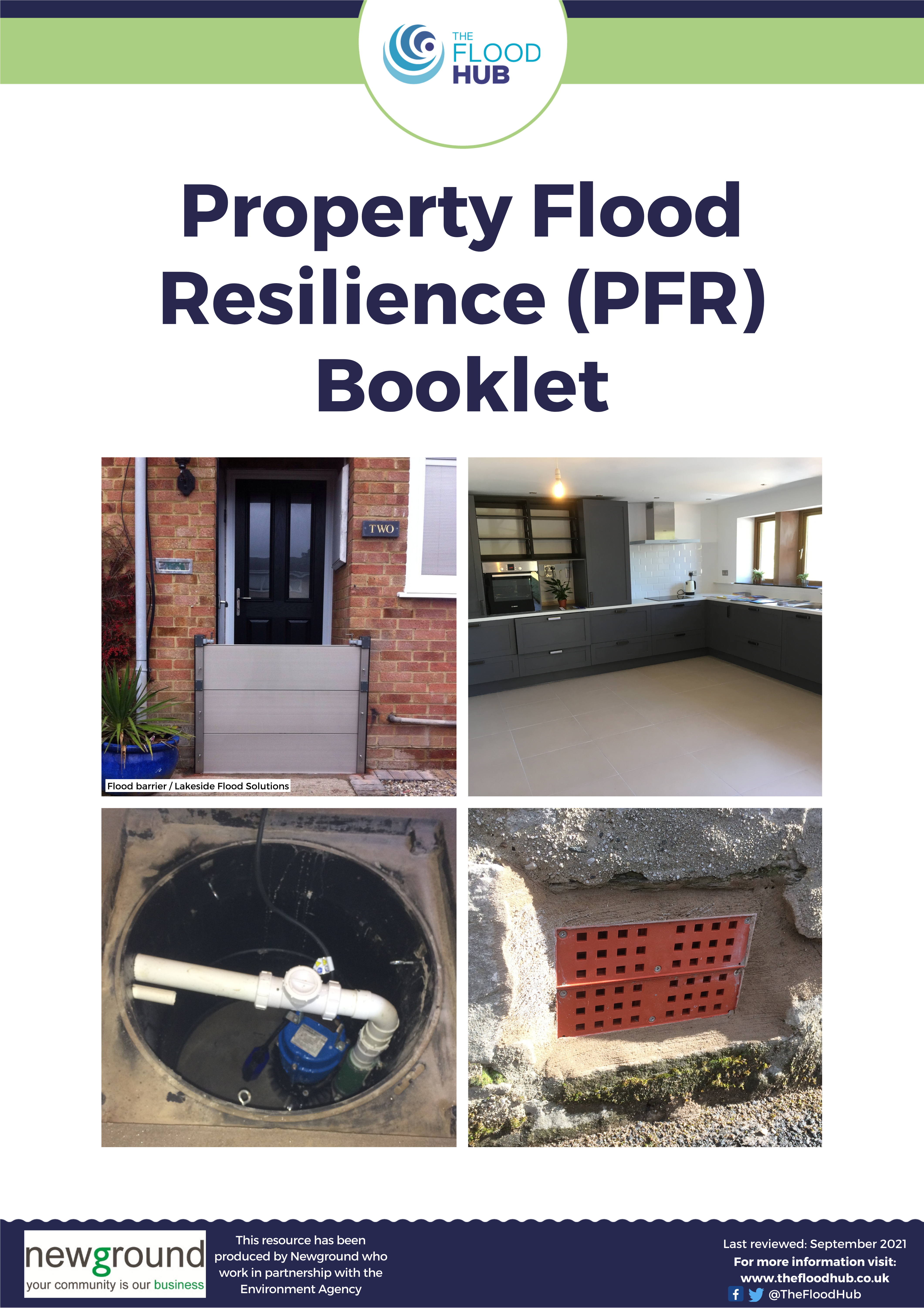 Property Flood Resilience (PFR) booklet