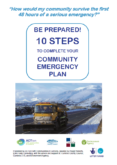 ACT Cumbria – 10 steps to complete your community emergency plan