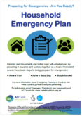 ACT Cumbria – Household Emergency Planning leaflet