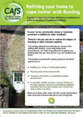 Cumbria Action for Sustainability (CAFS) – Retrofitting your home to cope better with flooding
