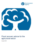 Environment Agency – Flood recovery advice for the agricultural sector