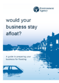 Environment Agency – Would your business stay afloat?