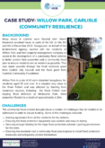 Community Flood Scheme Case Study: Willow Park, Carlisle (Newground)