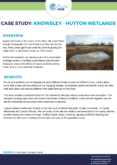 Wetlands Case Study: Huyton Wetlands