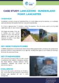 Flood Resilience Case Study: Sunderland Point, Lancaster