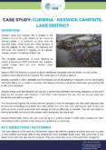 Community Resilience Case Study: Keswick Campsite, Lake District
