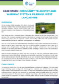 Community Telemetry Case Study: Parbold, West Lancashire