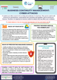 Business Continuity Management – Cyber Attacks