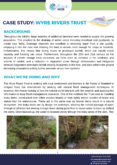 Natural Flood Management Case Study: Wyre Rivers Trust