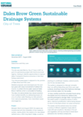 Sustainable Drainage Systems (SuDS) case study: Dales Brow Green Sustainable Drainage Systems