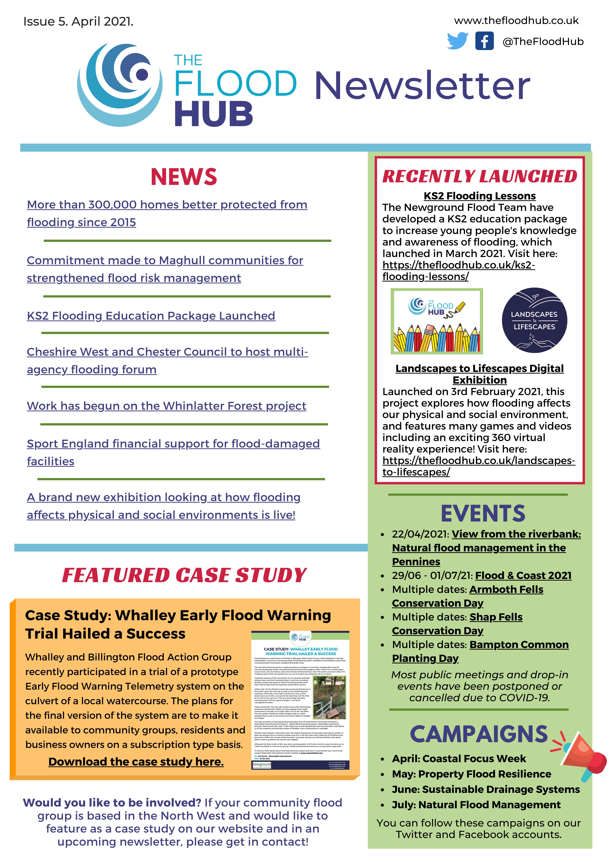 The Flood Hub Newsletter: Issue 5, April 2021