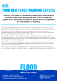 Flood Warning Expansion Project Fact Sheet