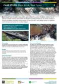 Natural Flood Management Case Study: Black Brook, Back Forest – Cheshire Wildlife Trust