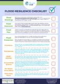 Flood Resilience Checklist
