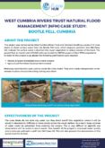 Natural Flood Management Case Study: Bootle Fell, Cumbria