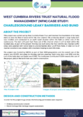 Natural Flood Management Case Study: Charlesground Leaky Barriers and Bund
