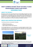Natural Flood Management Case Study: Moorside Farm