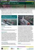 Natural Flood Management Case Study: Whitelee Farm – Cheshire Wildlife Trust