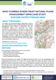 Natural Flood Management Case Study: Row End Water Storage Area