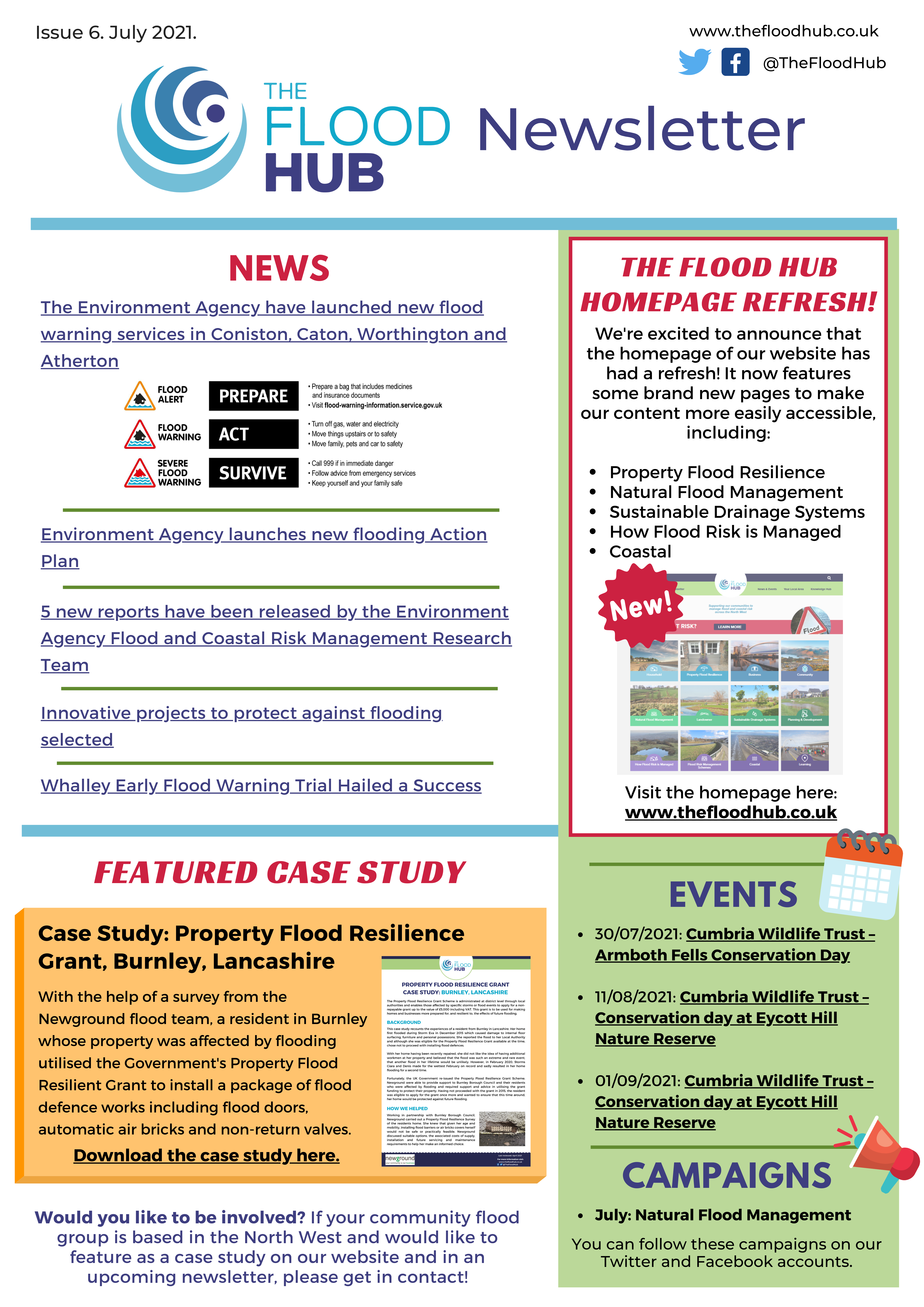 The Flood Hub Newsletter: Issue 6, July 2021